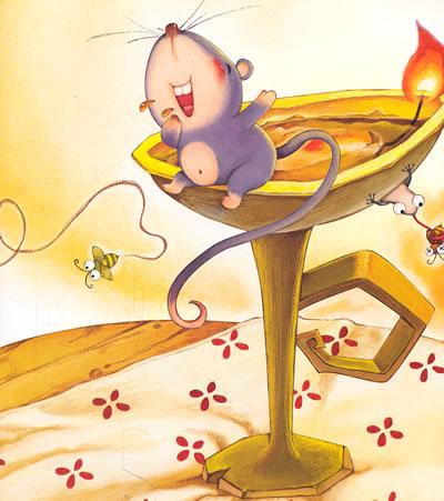 【小老鼠上灯台】亲子早读经典图画书--小老鼠上灯台