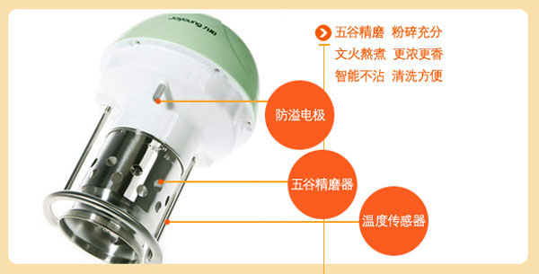 jydz-17a九阳豆浆机电路图