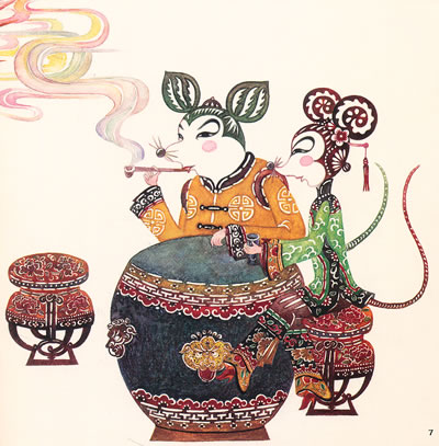 老鼠嫁女的故事_老鼠嫁女(平装)