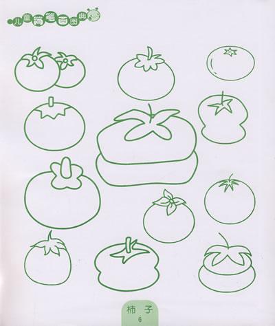 儿童简笔画图典