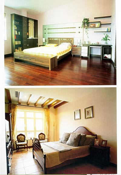 小卧室摆床图片