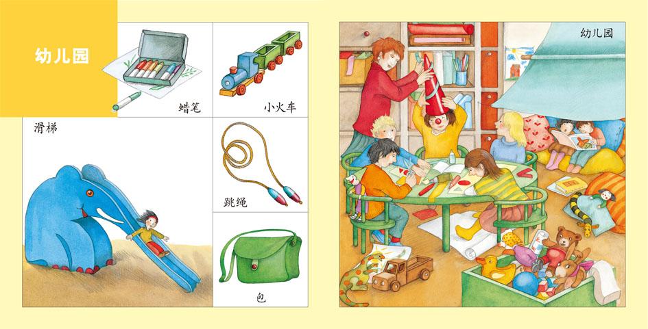 情景认知我的一天——宝贝快乐学(培养宝宝观察力,认知能力和想象力的