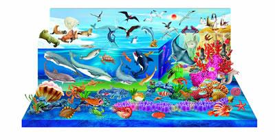《中国儿童立体百科全书:神秘的海洋》康琳